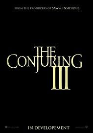 """Movie poster for """"THE CONJURING 3"""""""