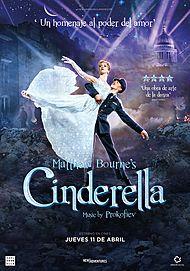 """Movie poster for """"MATTHEW BOURNE'S CINDERELLA"""""""