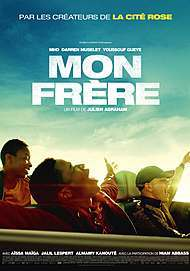 "Movie poster for ""MON FRERE"""