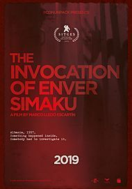 """Movie poster for """"THE INVOCATION OF ENVER SIMAKU"""""""