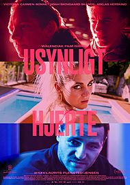 "Movie poster for ""USYNLIGT HJERTE"""