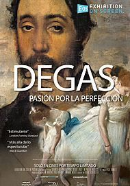 """Movie poster for """"DEGAS: PASSION FOR PERFECTION"""""""