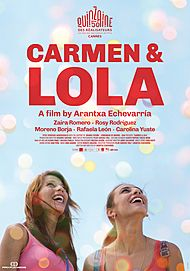 "Movie poster for ""CARMEN Y LOLA"""