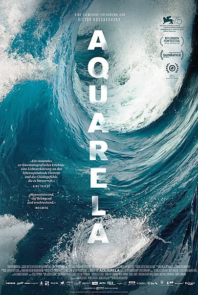 "Filmplakat für ""AQUARELA"""