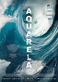 """Movie poster for """"AQUARELA"""""""