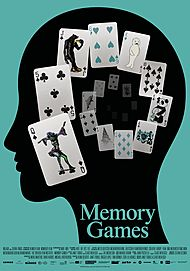 """Movie poster for """"MEMORY GAMES"""""""