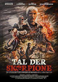"""Movie poster for """"Tal der Skorpione"""""""