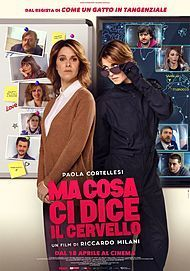 """Movie poster for """"MA COSA CI DICE IL CERVELLO"""""""