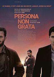 """Affiche du film """"PERSONA NON GRATA"""""""