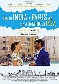 """Póster para """"DE LA INDIA A PARIS EN UN ARMARIO DE IKEA"""""""