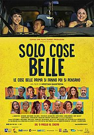 """Movie poster for """"SOLO COSE BELLE"""""""