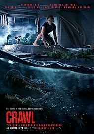 """Movie poster for """"CRAWL"""""""