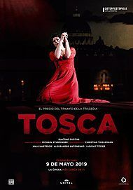 """Movie poster for """"TOSCA """""""