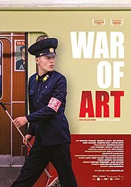 "Filmplakat für ""WAR OF ART"""