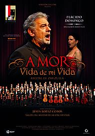 "Movie poster for ""AMOR, VIDA DE MI VIDA"""