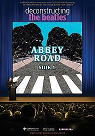 "Movie poster for ""DECONSTRUCTING THE BEATLES: ABBEY ROAD PART 1 """