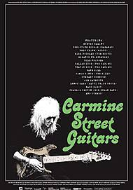 "Filmplakat für ""CARMINE STREET GUITARS"""