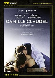 """Movie poster for """"CAMILLE CLAUDEL"""""""