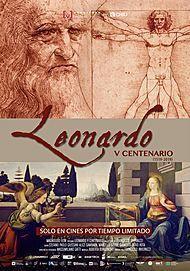 "Movie poster for ""LEONARDO 500"""