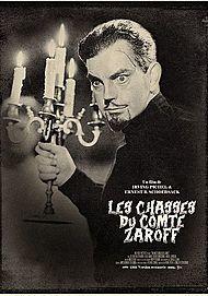 """Affiche du film """"LES CHASSES DU COMTE ZAROFF"""""""