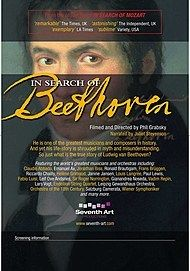 "Movie poster for ""IN SEARCH OF BEETHOVEN - Exhibition On Screen"""
