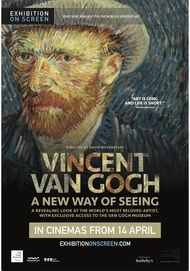 """Movie poster for """"VINCENT VAN GOGH: A NEW WAY OF SEEING - Exhibition on Screen"""""""