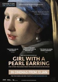 """Movie poster for """"GIRL WITH A PEARL EARRING - Exhibition on Screen"""""""