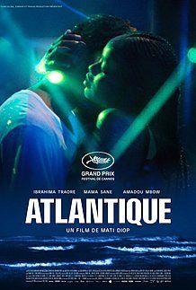 """Affiche du film """"ATLANTIQUE"""""""