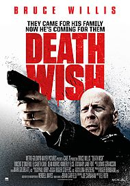 """Movie poster for """"DEATH WISH"""""""
