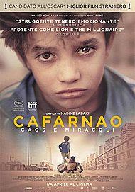 """Movie poster for """"CAFARNAO - CAOS E MIRACOLI"""""""