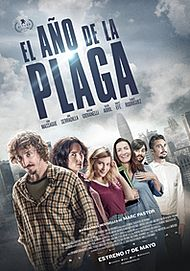 """Movie poster for """"THE YEAR OF THE PLAGUE"""""""