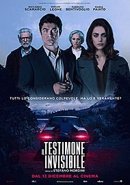 "Movie poster for ""IL TESTIMONE INVISIBLE"""