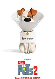 "Movie poster for ""THE SECRET LIFE OF PETS 2"""