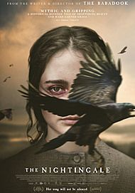 """Movie poster for """"THE NIGHTINGALE"""""""