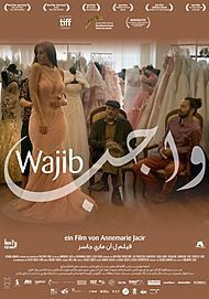 "Movie poster for ""WAJIB """