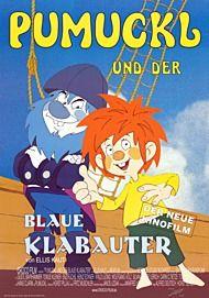 """Filmplakat für """"PUMUCKL UND SEIN BLAUER KLABAUTER"""""""