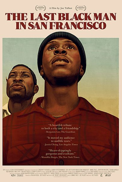 "Movie poster for ""THE LAST BLACK MAN IN SAN FRANCISCO"""