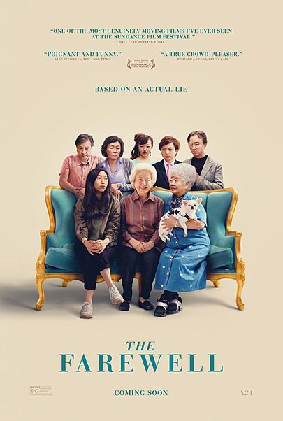 """Movie poster for """"THE FAREWELL"""""""