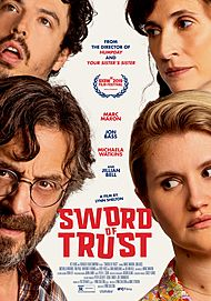 """Movie poster for """"SWORD OF TRUST"""""""