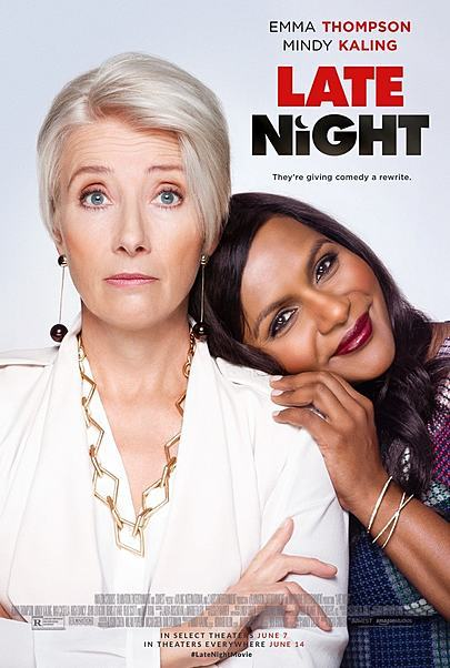 """Movie poster for """"LATE NIGHT"""""""