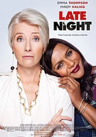 "Movie poster for ""LATE NIGHT"""
