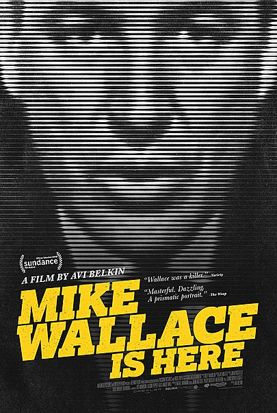 """Movie poster for """"MIKE WALLACE IS HERE"""""""