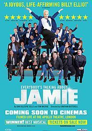 "Movie poster for ""EVERYBODY'S TALKING ABOUT JAMIE"""