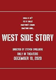 "Filmplakat für ""WEST SIDE STORY"""