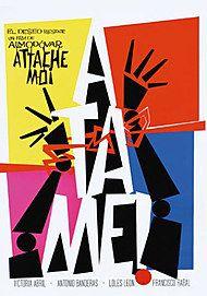 "Affiche du film ""ATTACHE-MOI !"""