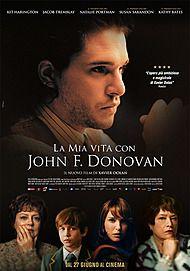 """Movie poster for """"La mia vita con John Donovan"""""""