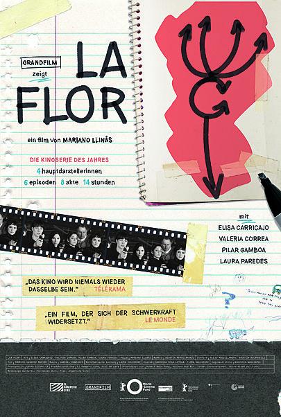 "Filmplakat für ""LA FLOR"""