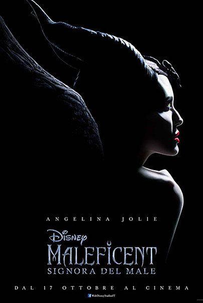 """Movie poster for """"MALEFICENT: SIGNORA DEL MALE"""""""