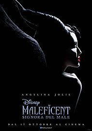 "Movie poster for ""MALEFICENT: SIGNORA DEL MALE"""