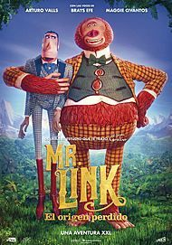 """Movie poster for """"MISSING LINK"""""""